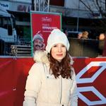 Izmed novinarjev je  o Filipovih dosežkih  poročala tudi znana  Mariborčanka Janja  Ujčič.  (foto: Mediaspeed)
