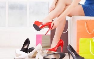 Kaj vam na zmenku lahko razkrijejo njeni čevlji