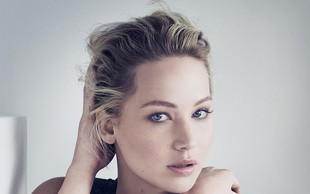 Jennifer Lawrence za Dior