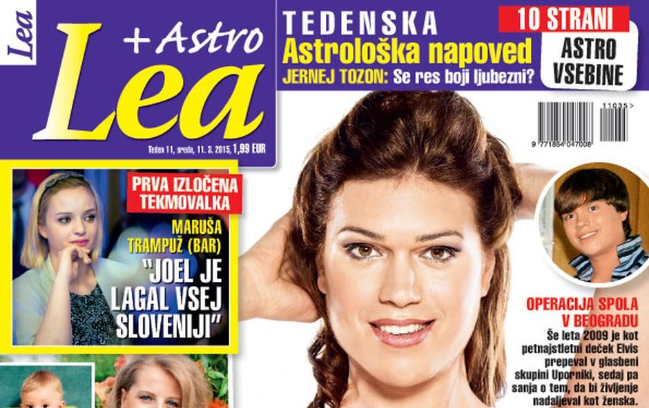 Nova Lea o Pii Filipčič, Hajdi Korošec Jazbinšek in Jerneju Tozonu! (foto: Lea)