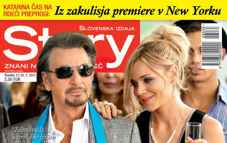 Story o holivudskem vrhuncu Katarine Čas in o zaigranem seksu v Big Brotherju (foto: Story)