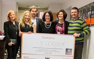 S predstavo Tamala zbrali 5.000 EUR za projekt Botrstvo!