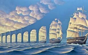 Optična iluzija in neverjetna fantazija Roba Gonsalvesa