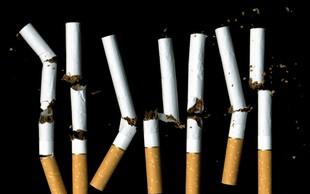 Delež odraslih kadilcev ostaja enak, a povprečno pokadijo cigareto manj