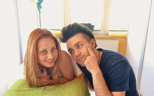 Raay in Marjetka Vovk praznovala obletnico