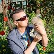 Domači ljubljenček Damjana Murka je zajček