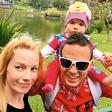 Jernej & Taya Damjan na prvem družinskem dopustu