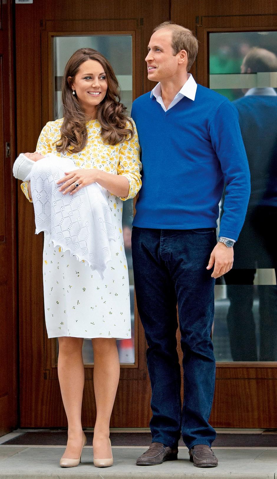 Podrobno o rojstvu hčerke vojvodinje Kate in princa Williama (foto: Profimedia)