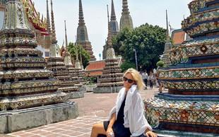 Manja Plešnar je uživala na Tajskem