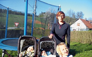 Mamica, ki ob treh otrocih uživa še v teku