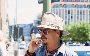 Johnny Depp v Beogradu: Zaradi prostitutk je moral zamenjati hotel!