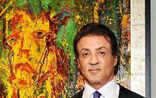 """Sylvester Stallone: """"Boljši slikar kot igralec"""""""