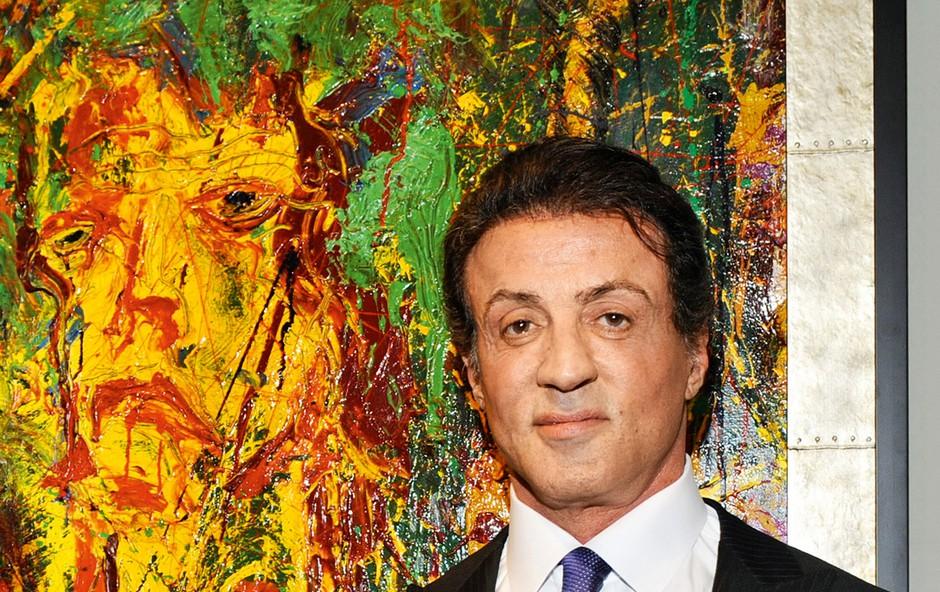 """Sylvester Stallone: """"Boljši slikar kot igralec"""" (foto: Profimedia)"""