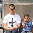 """Cristiano Ronaldo: """"Na prvem mestu je sin"""""""