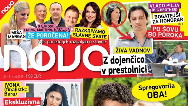 Težave v zakonu Jolande in Andreja Batagelja? Več v novi Novi! (foto: Nova)