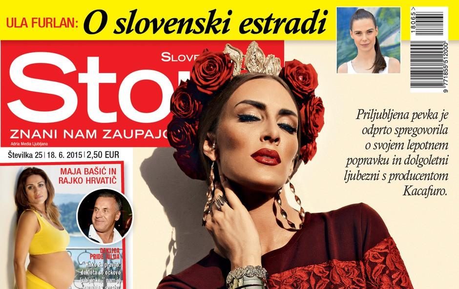 Priljubljena pevka Senida za Story iskreno o ljubezni in lepotnih popravkih! (foto: Story)