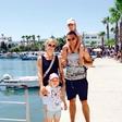 Matevž Česen z družino užival v Grčiji