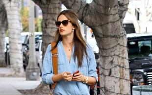 Alessandra Ambrosio - naj zvezdniški stajling iz džinsa
