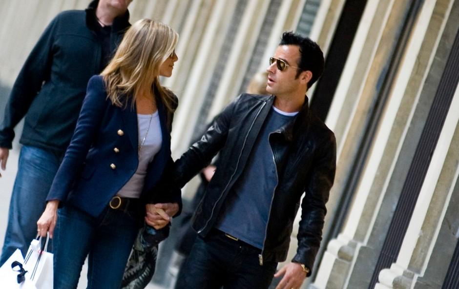 Kako sta se poročila Jennifer Aniston in Justin Theroux! (foto: profimedia)