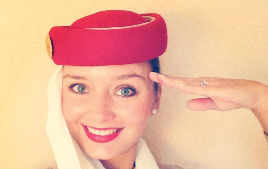 Kako poteka tipičen dan stevardese pri letalski družbi Emirates Airlines? (foto: osebni arhiv)