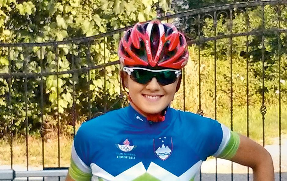 Eva Skaza: V triatlonu nima konkurence (foto: osebni arhiv)