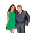 George Clooney: Skromna obletnica poroke
