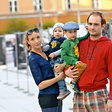 Mojca Funkl in Gregor Gruden: Velika srečna družina