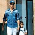 Cristiano Ronaldo je skrben očka