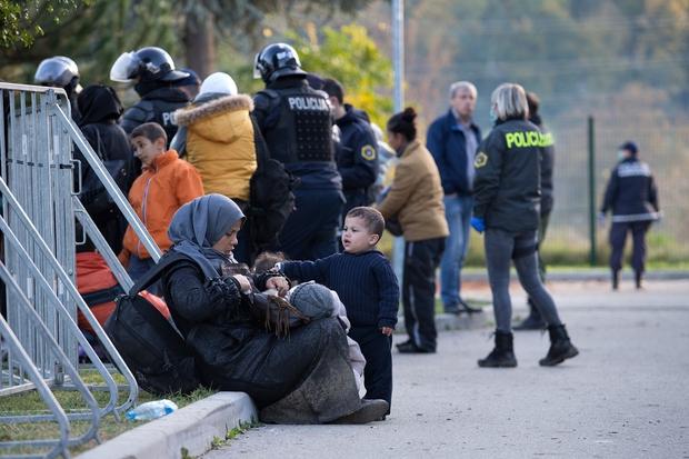 O stanju v brežiškem centru za begunce - iz prve roke! (foto: profimedia)