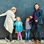 DRUŽINA Po desetih letih se je Heleni in Smiljanu uresničila želja po družini in ta čudež jima je dal nov zagon! (foto: Nino Verdnik)