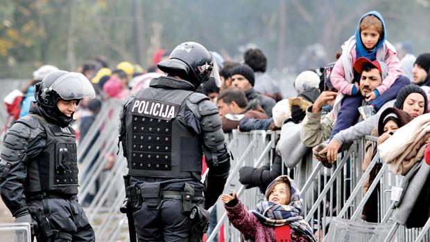 Hrvaška ne namerava postaviti žice ob meji z BiH in Srbijo (foto: Goran Antley)