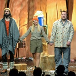 Nova komedija Divjak doživela stoječe ovacije (foto: Iztok Dimc)