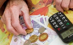 Kako s 600 evri pokojnine pokriti limit in posojila?