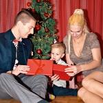 Tiarju je  Božiček prinesel  harmoniko. (foto: Foto: Nina Golub)