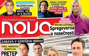 Peter Prevc in Mina Lavtižar že zaročena? Več v novi Novi!