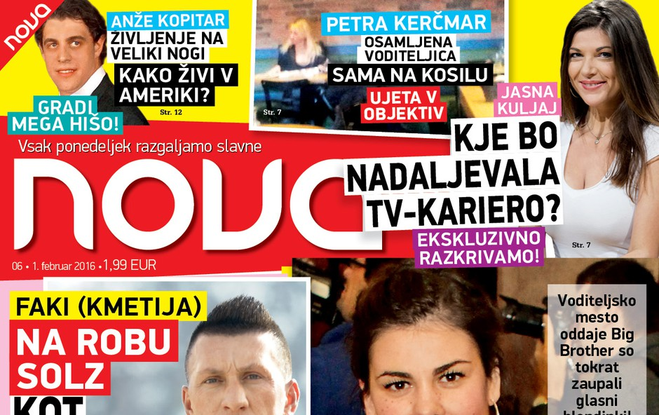 Ana Maria Mitič je izgubila voditeljsko mesto Big Brotherja, piše nova Nova!