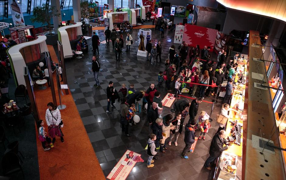 Super Alvin zabava v Cineplexxu Celje (foto: Cineplexx)