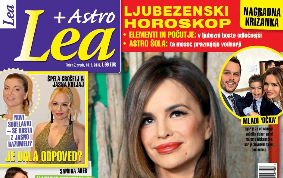 Severina si želi še enega otroka, piše nova Lea!