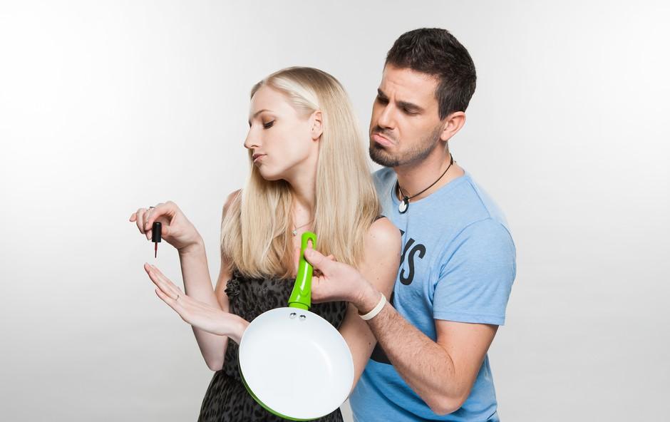 Partnerski odnos Aleša Abrama in Nike Matoh glede na horoskop (foto: Pop tv)
