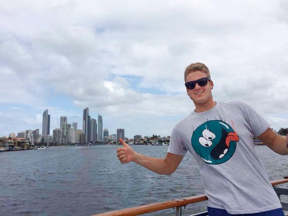 Vožnja z ladjo po rokavih Gold Coasta.  (foto: Osebni arhiv)