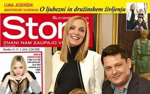 Aleksandra in Luka Jezeršek (Masterchef Slovenija): Maja bodo štirje! V novi Story!