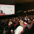 Mitja Okorn na premieri, ki ga je gostil Hitradio Center, navdušil celjsko publiko