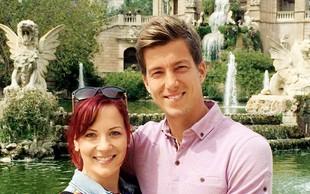 Kim Perenet in Aljaž Benedet: Želita si majhne poroke na plaži