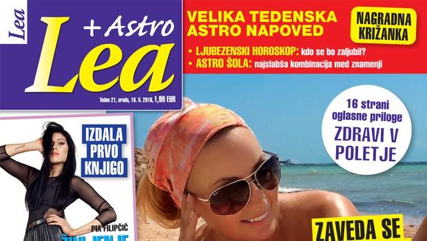 Saška Lendero se pospešeno pripravlja na morje, piše Lea!