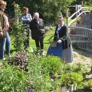 Več kot 90 zdravilnih rastlin je predstavila Jožica Bajc Pivec na Domačiji Pivec