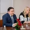 Direktor Rimskih term Valery Arakelov ter vodja trženja in prodaje Evelin Krajnc