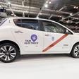 Madrid se bo ponašal z največjo floto električni taksijev