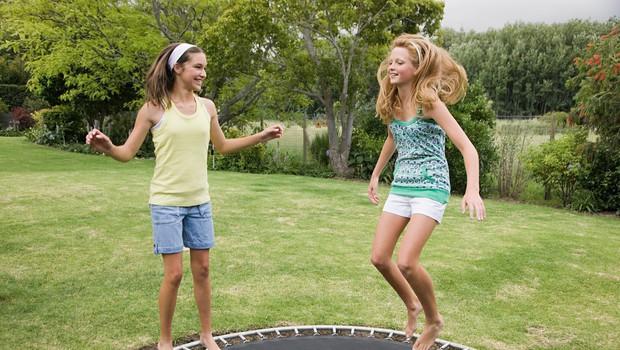 Nuša Gnezda: Vadba na trampolinu ni za ženske niti za deklice (foto: Profimedia)
