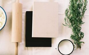Project Cookbook - kuharska knjiga, ki jo pišete sami in z dnem nakupa postane vaš osebni kulinarični projekt
