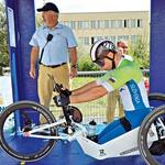 Za Primoža in preostalo paraolimpijsko delegacijo bomo pesti stiskali septembra. (foto: Osebni arhiv, Goran Antley, Janez Kotar)